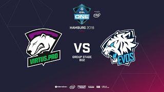 Virtus.pro vs  EVOS, ESL  One Hamburg, bo2, game 2 [Lex & 4ce]