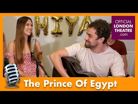 The Prince Of Egypt West End cast perform Dance To The Day