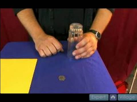Magic Tricks at the Office : Explanation of Glass Thru the Table Magic Tricks