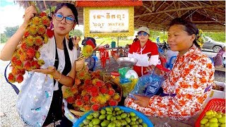 Video Hot Water Natural Resort at Aoral District in Kampong Speu Province | Hot Spring Tourism in Cambodia MP3, 3GP, MP4, WEBM, AVI, FLV Oktober 2017