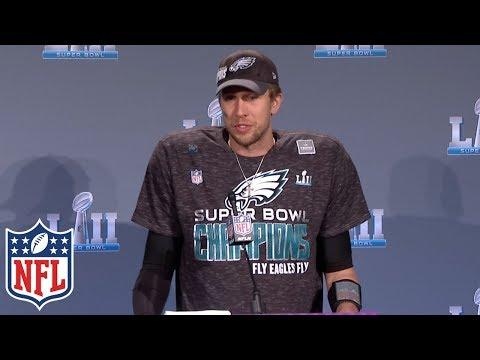 Video: Nick Foles' Super Bowl LII MVP Press Conference | NFL Highlights