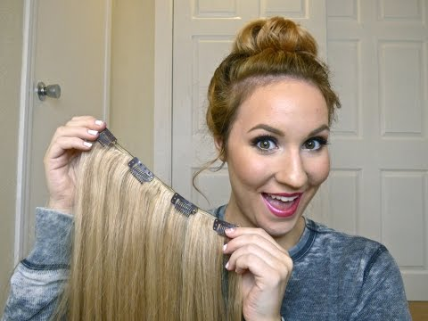 DIY/ How To: Make Your Own Clip In Hair Extensions