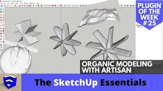 Video Organic Modeling in SketchUp with Artisan - SketchUp Plugin of the Week #25 MP3, 3GP, MP4, WEBM, AVI, FLV Desember 2017