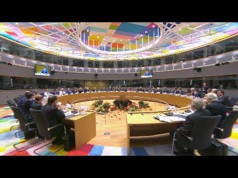 Σύνοδος Κορυφής του Ευρωπαϊκού Συμβουλίου στις Βρυξέλλες