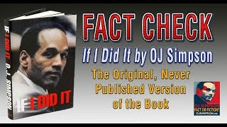 Video Fact Check: If I Did It by OJ Simpson [OJ Simpson: Fact or Fiction? Episode 17] MP3, 3GP, MP4, WEBM, AVI, FLV Maret 2019