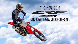 5. The All New 2019 CRF250R