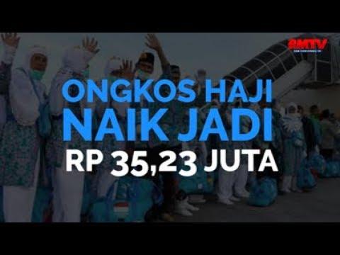Ongkos Haji Naik Jadi Rp 35,23 Juta