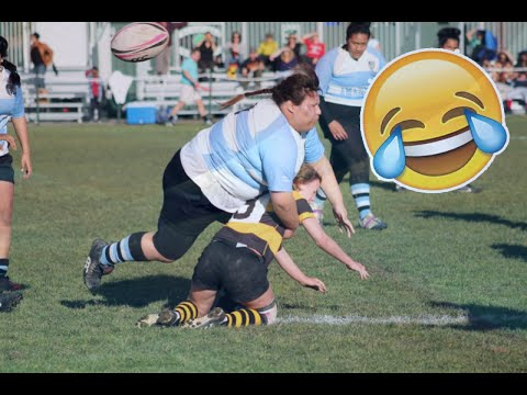 RUGBY FUNNIEST FAILS COMPILATION!