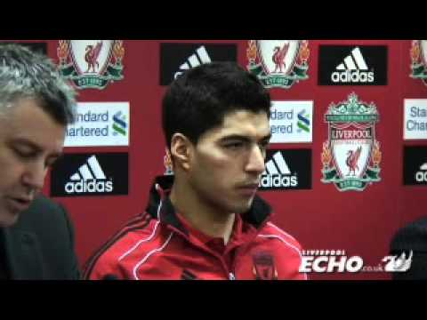 New Liverpool FC Number Seven Luis Suarez Delighted After 'dream Debut'