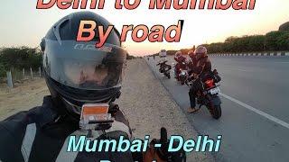 Video Delhi to Mumbai in 22 hours | RS200 , RC390 , Duke390 | Mumbai Delhi Part 4 MP3, 3GP, MP4, WEBM, AVI, FLV Oktober 2017