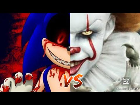 Sonic.exe vs pennywise