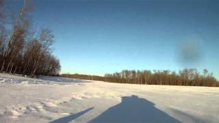 7. Sledding in Saskatchewan - Skidoo Renegade Backcountry 800 ETEC
