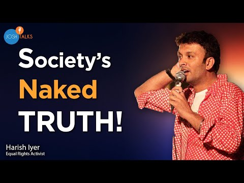 Self Reflection: Don't Be Ashamed Of Who You Are   Harish Iyer   Josh Talks
