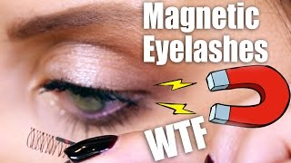 Video MAGNETIC LASHES ... WTF? | First Impressions MP3, 3GP, MP4, WEBM, AVI, FLV Juli 2017