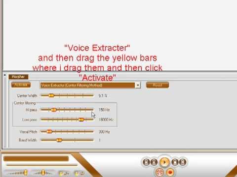 """How To Make An Acapella Using """"AV Music Morpher""""."""