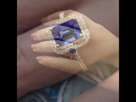 Top 20 Tanzanite Engagement Rings: Cool & Unique Gift Ideas for this  Christmas