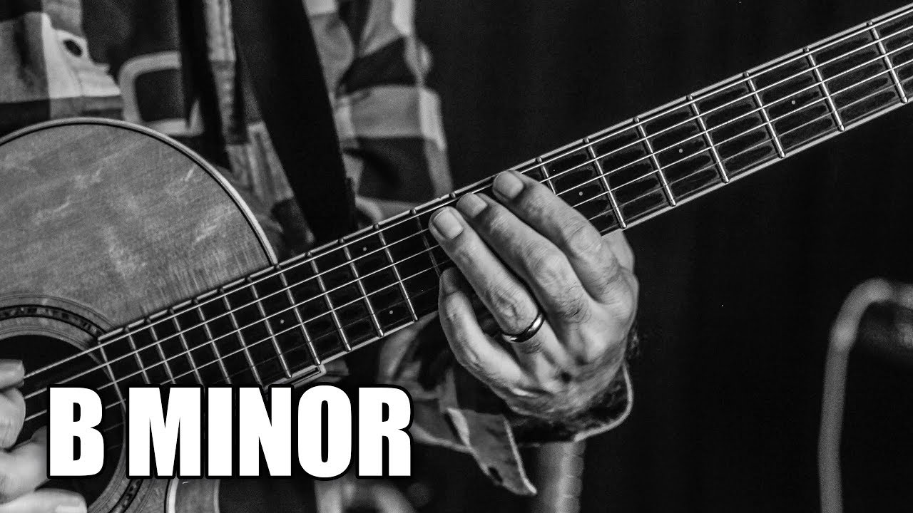Rock Acoustic Guitar Backing Track In B Minor | My Mind