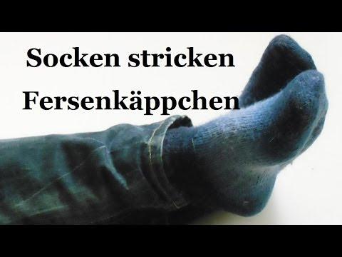 Socken stricken – Fersenkäppchen – Teil 3