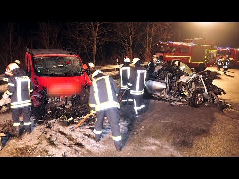 Eltern sterben bei Unfall nahe Bad Arolsen