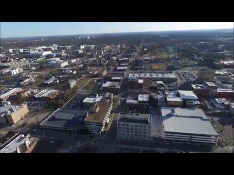 Phantom 3 Over Downtown, Springfield Missouri