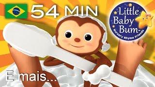Os melhores vídeos educativos no YouTube - belíssima e colorida animação 3D em fantástico HD!Grande compilação da LBB! Agora disponível para compra/descargahttps://bamazoo.com/littlebabybumbrazilBrinquedos: http://littlebabybum.com/shop/plush-toys/© El Bebe Productions Limited00:04 Canção do Banho01:50 BINGO03:47 As rodas do ônibus - Versão 505:41 Hickory Dickory Dock06:59 Brilha Brilha Estrelinha - Versão 4 Hong Kong08:56 Canção do Jogo de Esconde10:19 As rodas do ônibus - Versão 812:14 O Urso Subiu a Montanha14:05 Dez Pequenos Animais15:24 Hey Diddle Diddle17:37 Uma marinheira foi para o mar19:17 Os Sons dos Animais21:37 Gira, gira a roda23:06 O Agricultor vai pro vale24:20 Cabeça ombro joelho e pé - Versão 126:21 Pães Quentinhos27:37 Se Você Está Contente - Versão 229:22 A Dona Aranha30:25 Três Gatinhos32:42 A Ponte de Londres34:29 Maria tinha um cordeirinho36:10 Mé, mé, ovelha negra - Versão 137:04 Cinco Monstrinhos38:42 Faça um bolo39:40 Vou vou vou remando - Versão 140:51 Seis Patinhos42:45 Um, dois. Aperte o sapato43:50 A Canção das Formas45:49 Cinco pequenos sapos48:19 O velhinho51:08 Canção do Olá52:45 Viajando no meu carro
