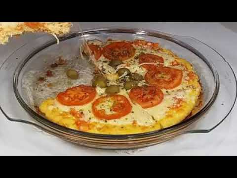 Dieta - DELICIOSA PIZZA LOW CARB!! Para emagreçer!!