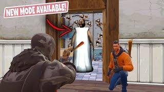 *NEW* Granny Horror Gamemode in Fortnite BR (NEW Gamemode in Fortnite Battle Royale Playground Mode)
