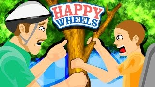 INAPPROPRIATE TREE TOUCHING - Happy Wheels