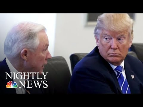President Donald Trump: AG Sessions Should Never Have Recused Himself | NBC Nightly News