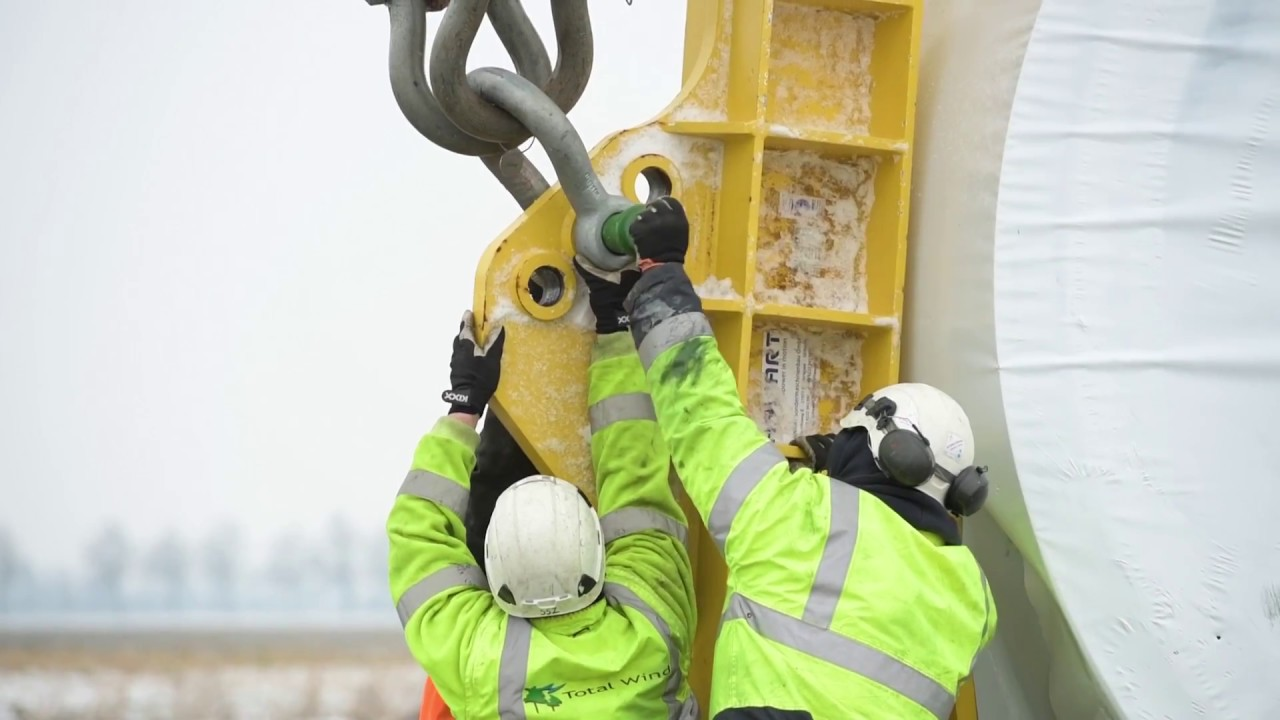 Witness the Installation of a Giant GE Wind Turbine in the Netherlands