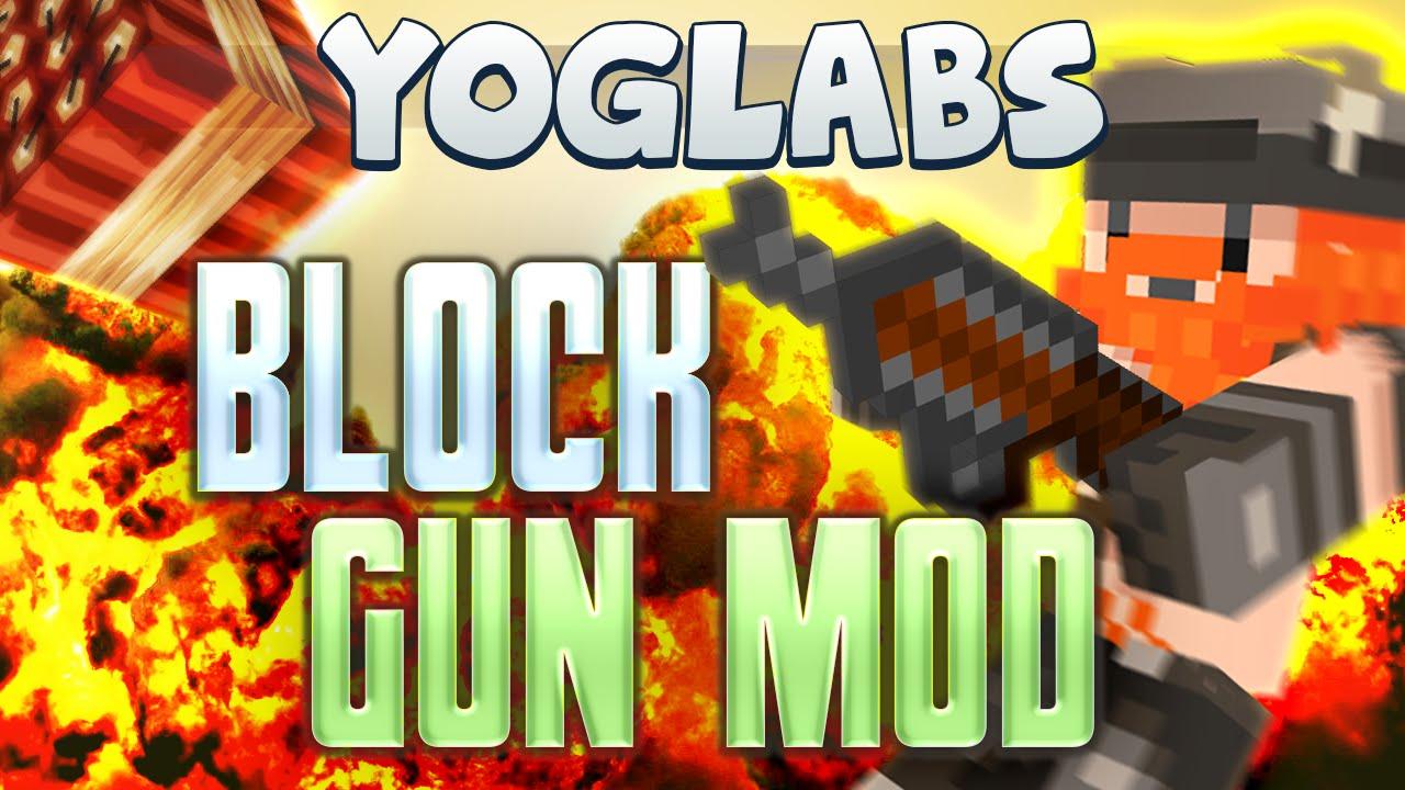 Minecraft Mods – Block Gun Mod – YogLabs