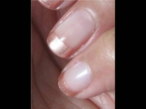 oxfordjasmine - OxfordJasmine shows us a little nail cheat to make short nails appear longer! Blush and Clear Nail Polishes were used but why not try your own combinations. ...