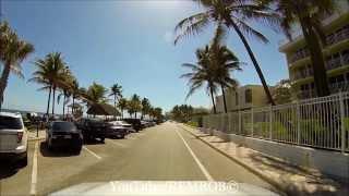 Deerfield Beach (FL) United States  city pictures gallery : Driving Deerfield Beach, Florida