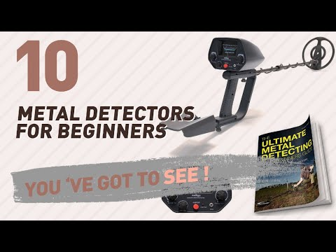 Metal Detectors For Beginners // New & Popular 2017