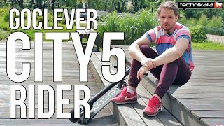 Hulajnoga Goclever City Rider 5 - test