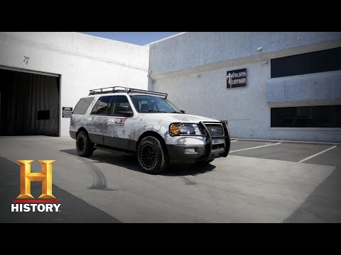 Counting Cars: The Team Is Challenged to Paint a 2005 Expedition (Season 7, Episode 14) | History