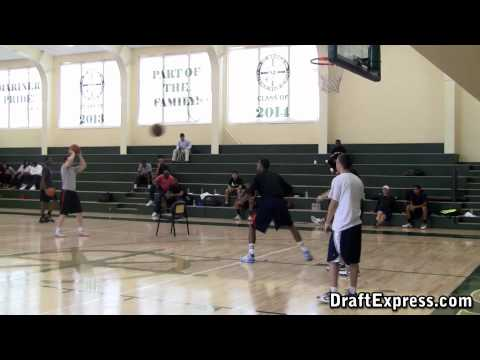 Fab Melo - DraftExpress Exclusive Workout & Interview