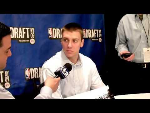 Tyler Hansbrough - 2009 NBA Draft Media Day Interview