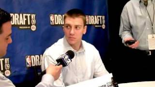 Tyler Hansbrough - 2009 NBA Draft Media Day Interview