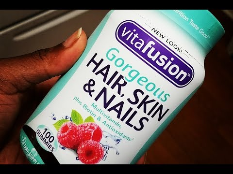 Vitafusion Gorgeous Hair, Skin & Nails Multivitamin (first impressions)
