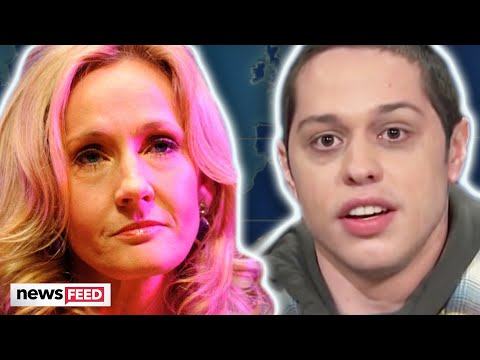Pete Davidson SLAMS J.K. Rowling Over Transphobia!