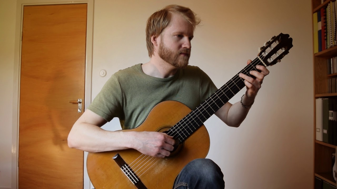 Transitions – Andrew York (Acoustic Classical Guitar Fingerstyle Cover)
