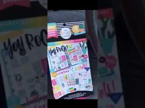 The Happy Quotes New Happy Planner Stickerbook