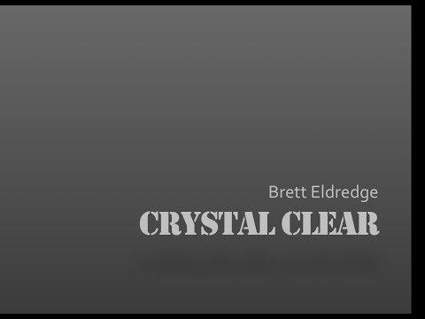 Crystal Clear- Brett Eldredge Lyrics