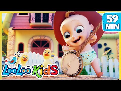 Yankee Doodle 🤠 Educational Songs For Children | LooLoo Kids
