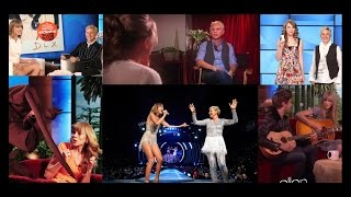 Video Taylor and Ellen - The most memorable moments (2008-2015) MP3, 3GP, MP4, WEBM, AVI, FLV Juni 2019