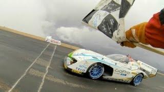 2013 Pikes Peak Electric Winner Nobuhiro Tajima