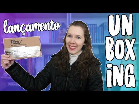 Unboxing | Parceira da Editora Rocco - Junho | Leituras de Deni