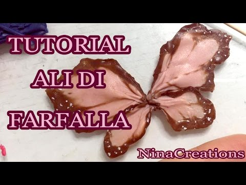 fimo – come realizzare le ali di una farfalla