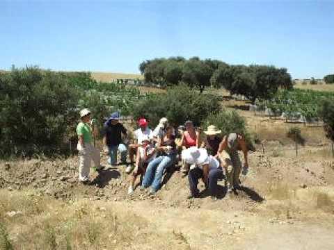 Escavação em Fronteira